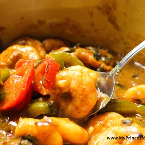 Jamaican Style Curry Shrimp
