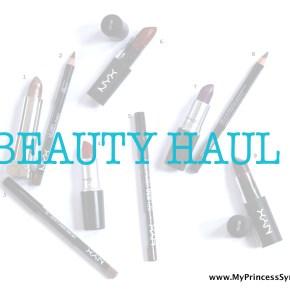 Lip Craaazy Beauty Haul:-)