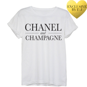 Chanel and Champagne: 1 Shirt 3 Looks