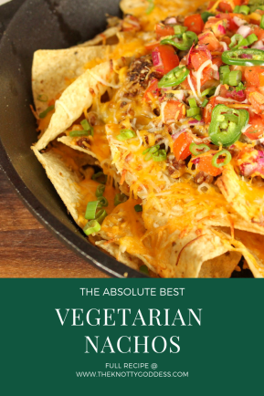 The Best Vegetarian Nachos